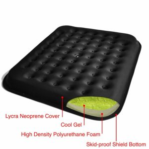 Lovehome Cool Gel Seat Cushion:coccyx Seat Cushion for Lower Back Pain Relief