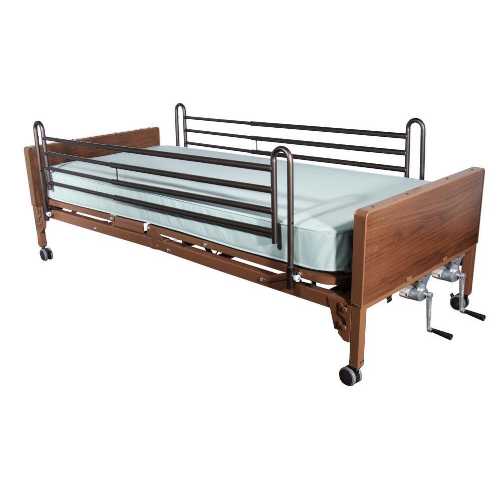 manual hospital bed for elderly seniors