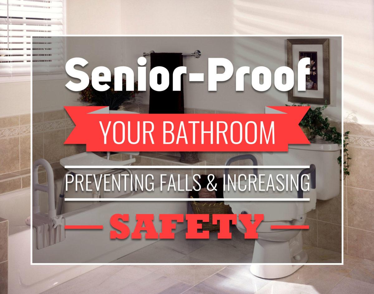 fall prevention in the bathroom for seniors