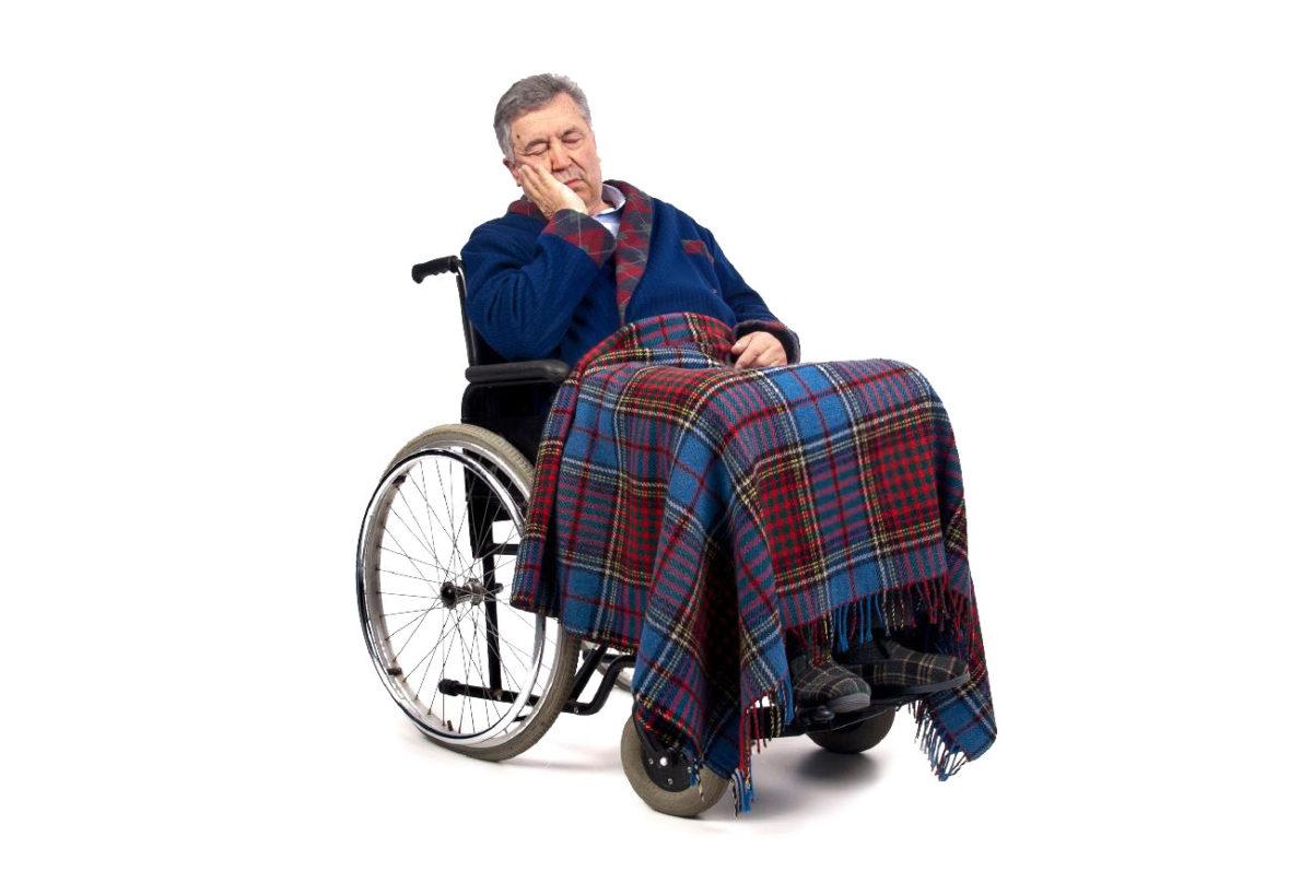 elderly sitting all day