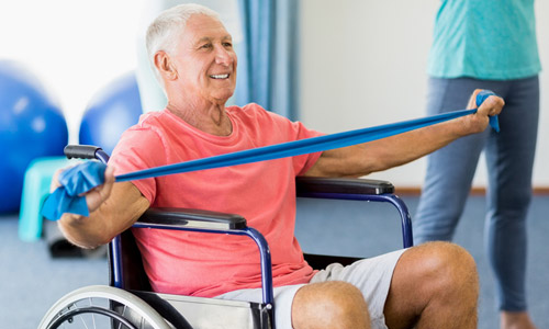 Chair Exercises and Fitness Tips for Seniors sitting in a Wheelchair
